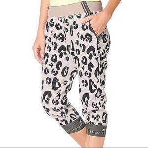 Adidas X Stella McCartney Animal Print Crop Jogger